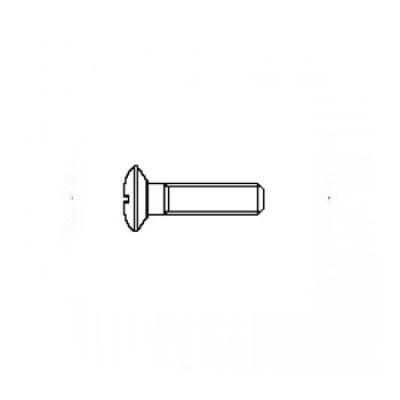 ГОСТ 17474-80 - Латунные винты с полупотайной головкой