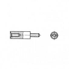 ГОСТ 20864-81 - Латунные стойки установочные крепежные круглые с резьбовым концом и отверстием