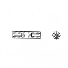 ГОСТ 20865-81 - Латунные стойки установочные крепежные шестигранные с резьбовыми отверстиями