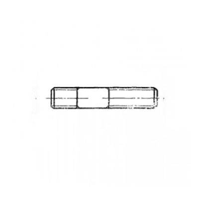 ГОСТ 22034-76 - Нержавеющие шпильки с ввинчиваемым концом