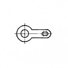 ГОСТ 22376-77 - Латунные лепестки односторонние, закрепляемые винтами или заклепками