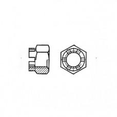 ГОСТ 5918-70 - Стальные гайки прорезные корончатые