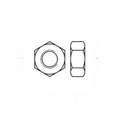 ГОСТ 5927-70 - Алюминиевые гайки шестигранные
