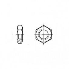 ГОСТ 5929-70 - Латунные гайки шестигранные низкие класса точности А