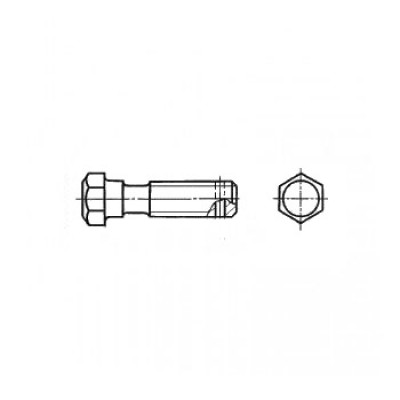 ГОСТ 7795-70  - Стальные болты с шестигранной уменьшенной головкой и направляющим подголовком
