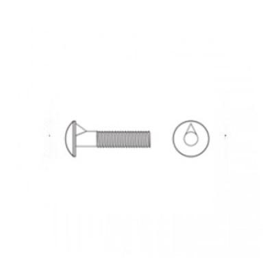 ГОСТ 7801-81 - Стальные болты с увеличенной полукруглой головкой и усом