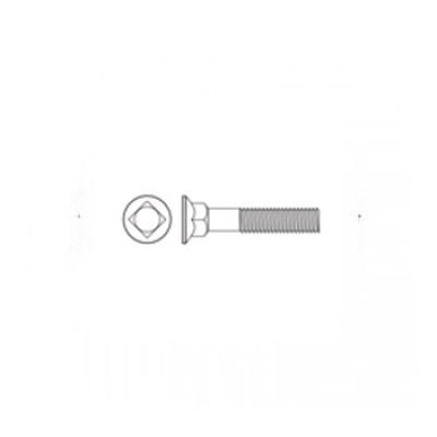 ГОСТ 7802-81 - Стальные болты с увеличенной полукруглой головкой и квадратным подголовком