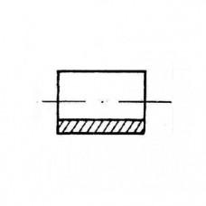 ОСТ 4Г 0.822.200 - Алюминиевые втулки безрезьбовые