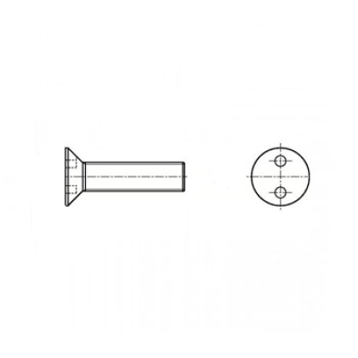 АРТ СК 11003 - Стальные винты антивандальные