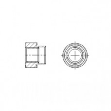 АРТ СК61001 - Латунные втулки развальцовываемые
