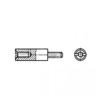АРТ СК 71012 - Латунные стойки с внутренней и наружной резьбой