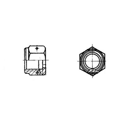ГОСТ 13957-74 Гайки накидные для соединения трубопроводов по наружному конусу