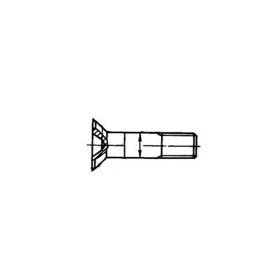 ОСТ 1 10571-72 Болты с потайной головкой