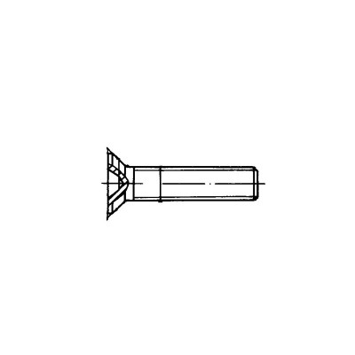 ОСТ 1 10577-72 Болты с потайной головкой из титанового сплава 90 гр.