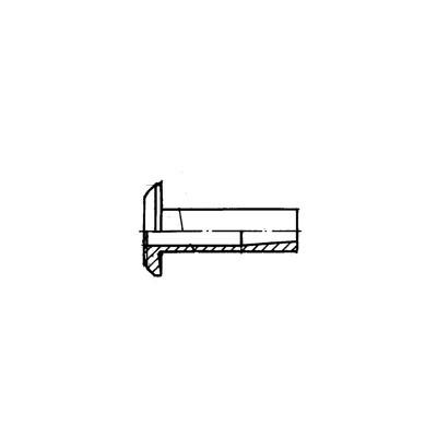 ОСТ 1 10644-72 Заклепки пустотелые с плоско-скругленной головкой