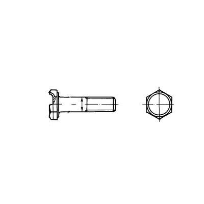 ОСТ 1 31240-86 Болты с шестигранной облегченной головкой