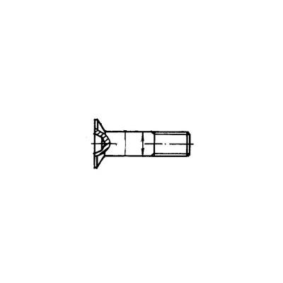 ОСТ 1 31244-88 Болты с потайной головкой L120'