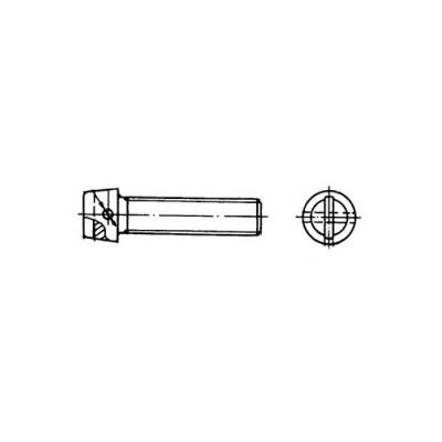 ОСТ 1 31522-80 Винты с цилиндрической головкой и отверстием для контровки в головке