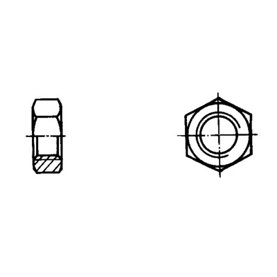 ОСТ 1 33032-80 Гайки шестигранные низкие