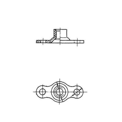 ОСТ 1 33072-80 Гайки двухушковые самоконтрящиеся