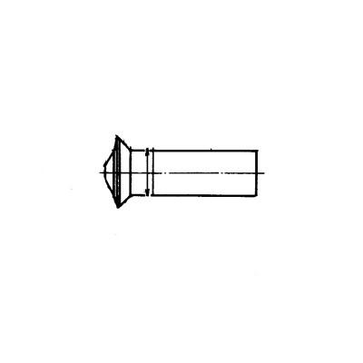 ОСТ 1 34047-80 Заклепки с уменьшенной потайной головкой L90` с компенсатором