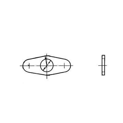 ОСТ 1 34515-80 Шайбы для двухушковых гаек