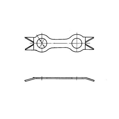 ОСТ 1 34528-80 Шайбы стопорные двойные
