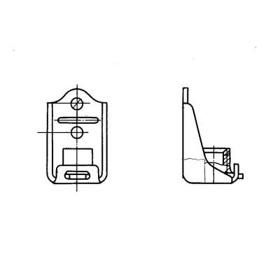 ОСТ 1 37020-80 Гайки самоконтрящиеся, плавающие на кронштейне