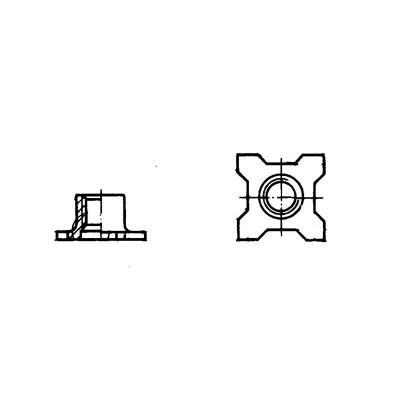 ОСТ 1 37108-89 Гайки самоконтрящиеся из стали 16ХСН-Д-П или 16ХСН