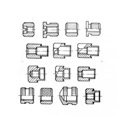 ОСТ4 Г 0.822.001-009 - Латунные втулки резьбовые
